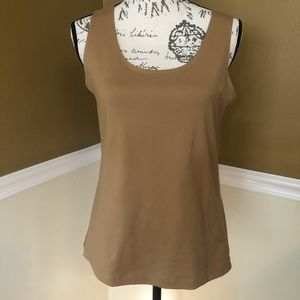 Chico's Brown Tank Cami Top Size 1 / Small